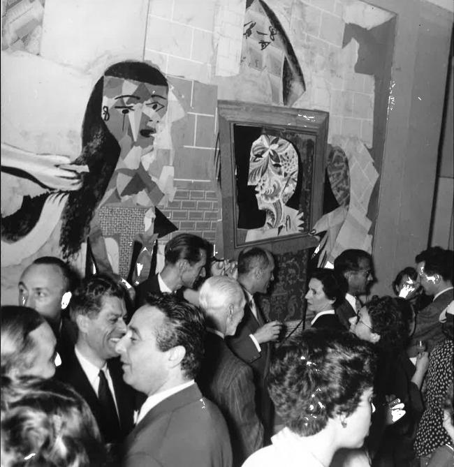Opening of the exhibition Picasso at the Musée des Arts Décoratifs