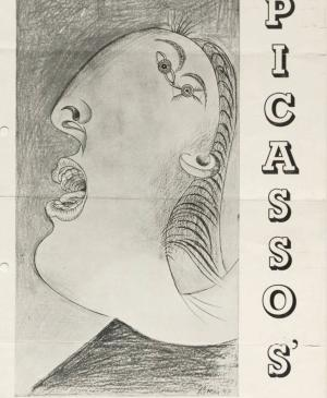 Cartel de Picasso's Guernica, New Burlington Galleries (1)