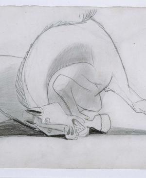Study for the Horse [I]. Sketch for Guernica